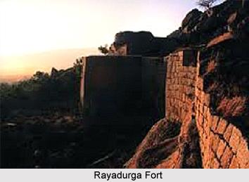 Rayadurga Fort, Monuments of Andhra Pradesh
