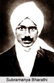 Subramanya Bharathi, Tamil Writer
