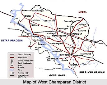 West Champaran District, Bihar