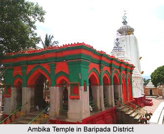 Ambika Temple, Baripada, Orissa