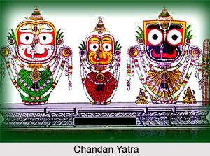 Chandan Yatra, Orissa