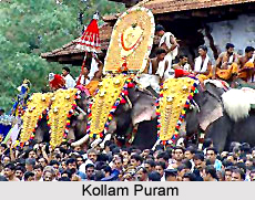 Fairs and festivals of Kollam District , Kerala