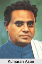 Kumaran Asan, Modern Malayali Poet