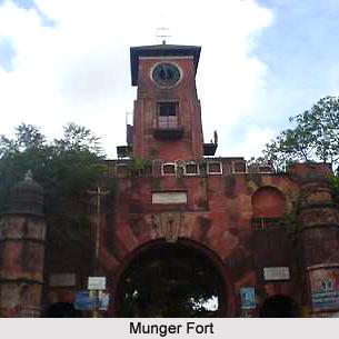 Munger Fort, Munger District