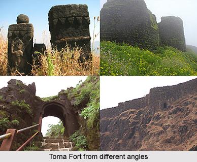 Torna Fort, Conquests of Shivaji