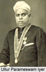 Ullur Parameswam Iyer, Modern Malayali Poet