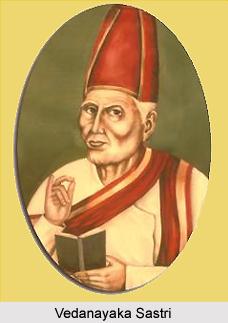 Vedanayaka Sastri, Tamil Poet