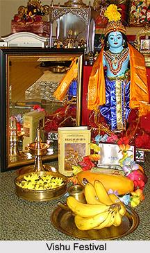 Vishu, Festivals of Kerala