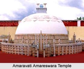 Amaravati Amareswara Temple, Amaravati near Vijayawada, Andhra Pradesh