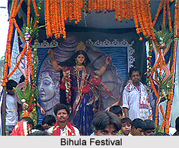 Bihula Festival, Bhagalpur