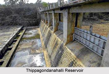 Thippagondanahalli Reservoir, Arkavathy River, Karnataka