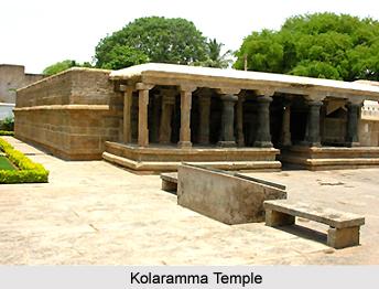Kolaramma Temple, Kolar, Karnataka