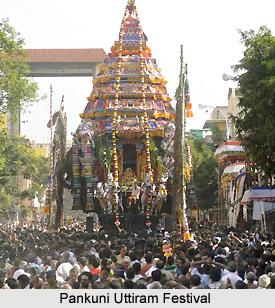 Pankuni Uttiram Festival, Tamil Nadu