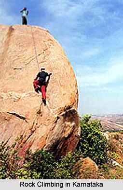 Rock Climbing, Adventure Sports, Karnataka