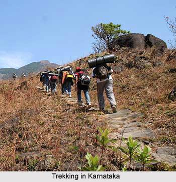 Trekking ,  Adventure Sport, Karnataka