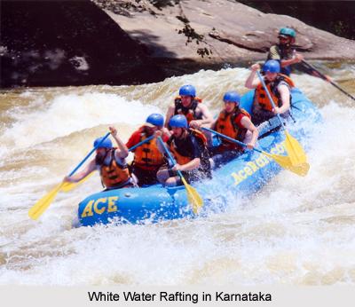 White Water Rafting, Adventure Sports, Karnataka