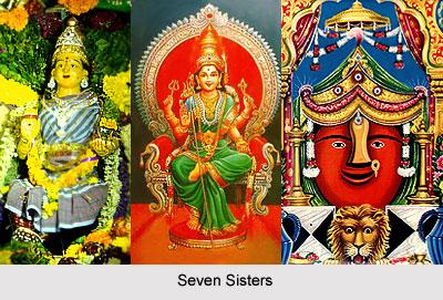 Seven Sisters, Dravidian Deities