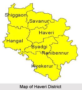 Geography Of Haveri District, Karnataka