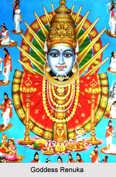 Goddess Renuka, Dravidian deity