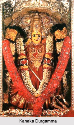 Kanaka Durgamma, Dravidian deity