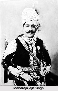 Maharajah Ajit Singh, Ruler of Marwar