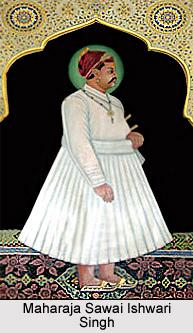Maharaja Sawai Ishwari Singh, Kachwaha ruler of Jaipur