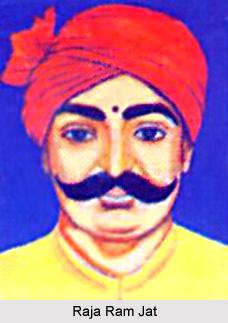 Raja Ram Jat, Jat Leader