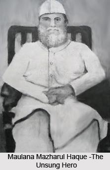 Maulana Mazharul Haque, Indian Freedom Fighter