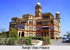 Ranjit Vilas Palace, Wankaner, Gujarat