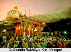 Qutbuddin Bakhtiyar Kaki Mosque, Mehrauli