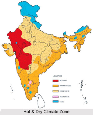 Hot and Dry Climate in India
