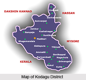 Geography Of Kodagu District, Karnataka