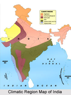 Indian Climatic Regions