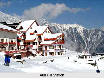 Auli Hill Station In Uttarakhand