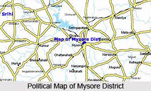 Geography Of Mysore District, Karnataka