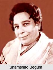 Shamshad Begum, Indian Singer