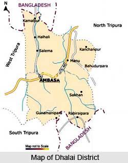 Dhalai District, Tripura