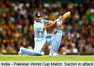India-Pakistan World Cup Match, Johannesburg, 2003