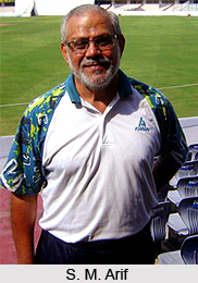 S. M. Arif, Indian Badminton Player