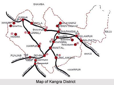 Kangra District, Himachal Pradesh