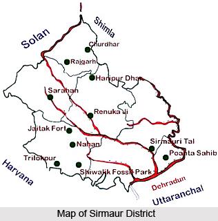 Sirmaur District, Himachal Pradesh