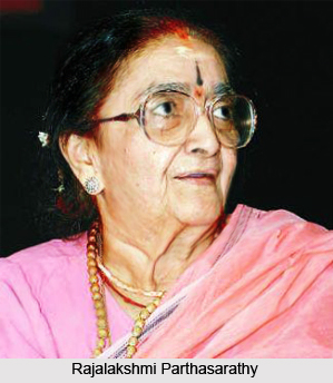 Rajalakshmi Parthasarathy, Indian Social Activist