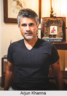 Arjun Khanna, Indian Fashion Designer