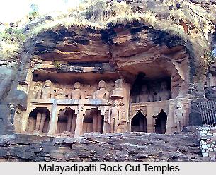 Malayadipatti Rock Cut Temples, Tamil Nadu