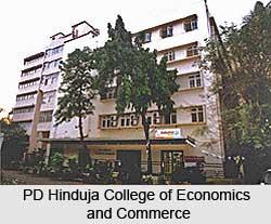 PD Hinduja College of Economics and Commerce, New Chrani Road, Mumbai