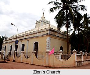 Monuments Of Tranquebar, Monuments Of Tamil Nadu