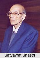 Satyavrat Shastri, Indian Literary Person