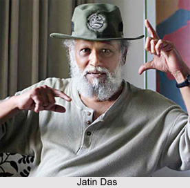Jatin Das, Indian Painter