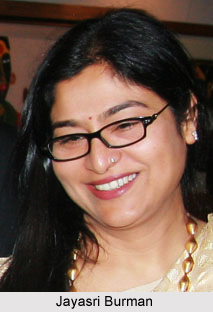 Jayasri Burman , Indian Painter