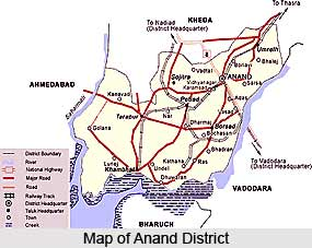 Anand District, Gujarat